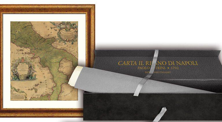 Carta del Regno di Napoli 1700