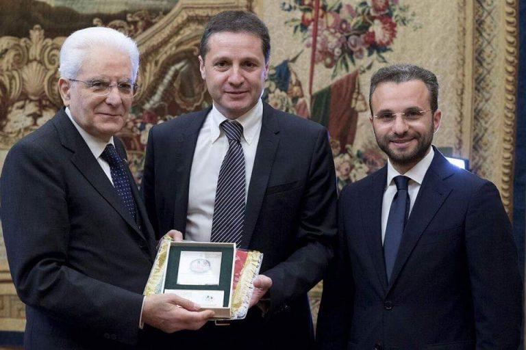 Il Presidente Della Repubblica riceve una delegazione di San Paolo Patrimonio