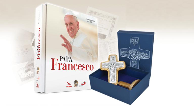 La Croce di papa Francesco e il libro sulla sua vita