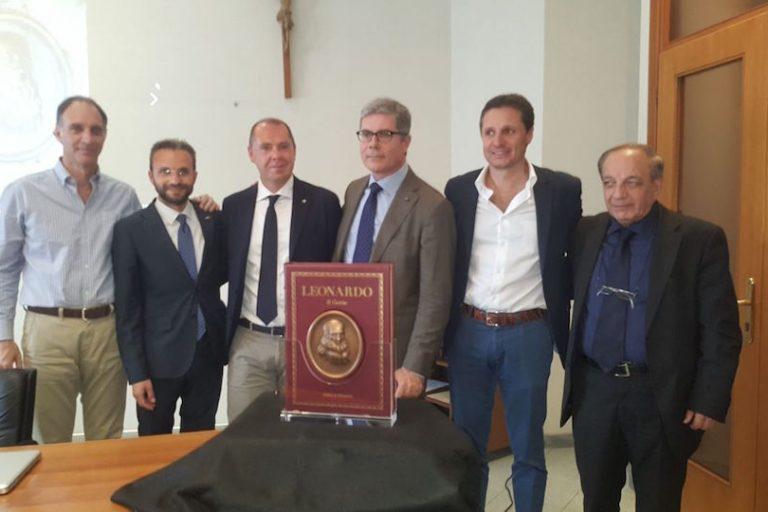 Leonardo, il genio. Nuova opera per San Paolo Patrimonio.