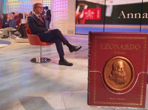 Presentazione del volume Leonardo Il genio su TV2000 11