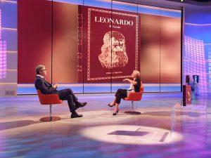 Presentazione del volume Leonardo Il genio su TV2000 3