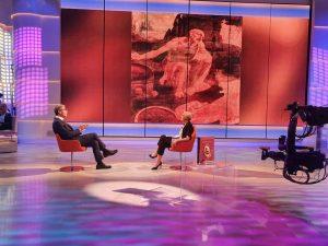 Presentazione del volume Leonardo Il genio su TV2000 5