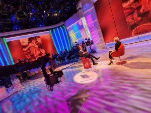 Presentazione del volume Leonardo Il genio su TV2000 6