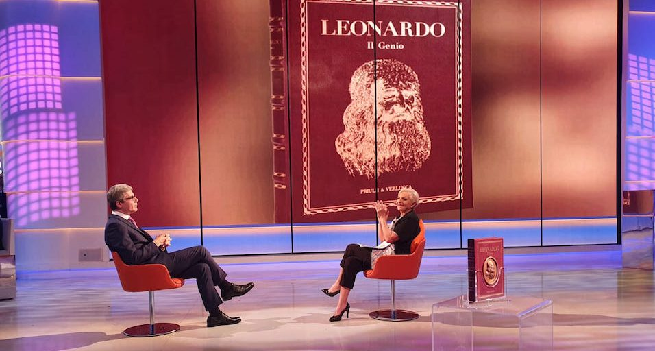 Presentazione del volume Leonardo Il genio su TV2000