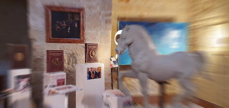 """Leonardo """"Il Genio"""" e """"Raffaello Principe delle arti"""" alla mostra MED CREATIWA 2"""