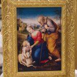 Sacra Famiglia con l'Agnello - con libro allegato 9