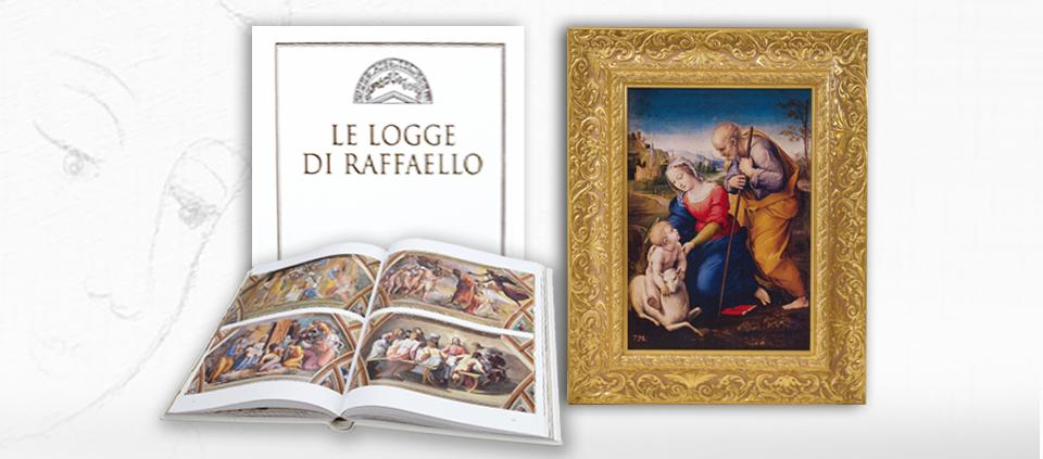 Sacra Famiglia con l'Agnello – con libro allegato