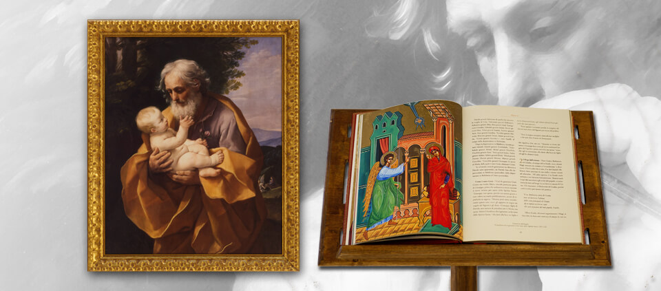 San Giuseppe col Bambino – Con libro allegato